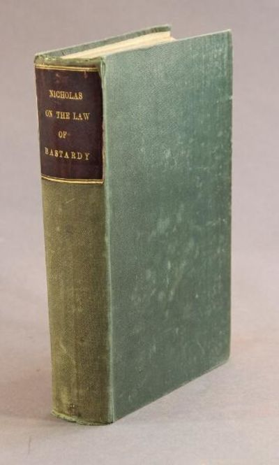 London: William Pickering, 1836. First edition, 8vo, pp. xvi, 588, 9; contemporary green cloth, brow...