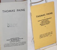 image of Thomas Paine. Preface by C.G. Patterson