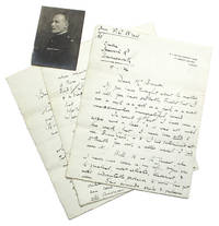Autograph Letter, signed, to Herbert Brenon