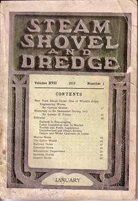Steam Shovel and Dredge - Volume XVII, Number 1, 1913