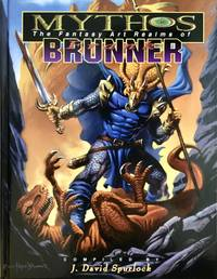 MYTHOS : The Fantasy Art Realms of FRANK BRUNNER (Deluxe Signed Limited Edtion Hardcover in Slipcase)