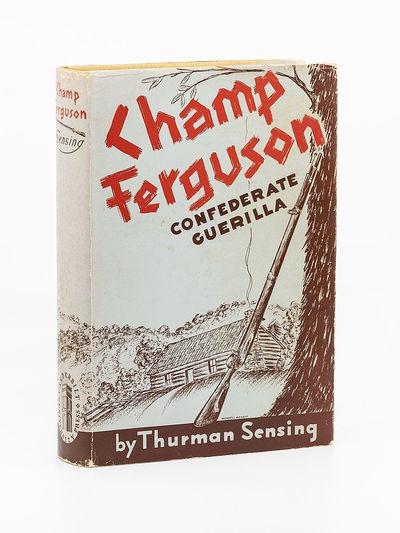 Nashville, Tennessee: Vanderbilt University Press, 1942. First Edition. Hardcover. Near fine in orig...