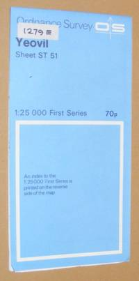 Yeovil. 1:25000 First Series Map Sheet ST 51