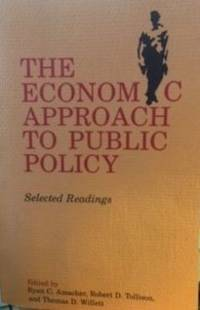 The Economic Approach to Public Policy