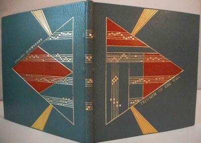 Mt. Horeb, WI: The Perishable Press, 1976. Unique copy with one-of-a-kind full blue-gray morocco des...