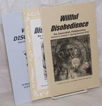image of Willful Disobedience: an anarchist publication [2 issues plus an anthology]