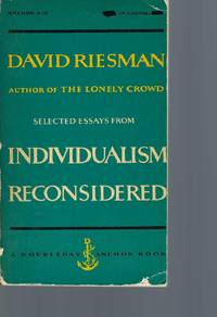 Selected Essays from Individualism Reconsidered