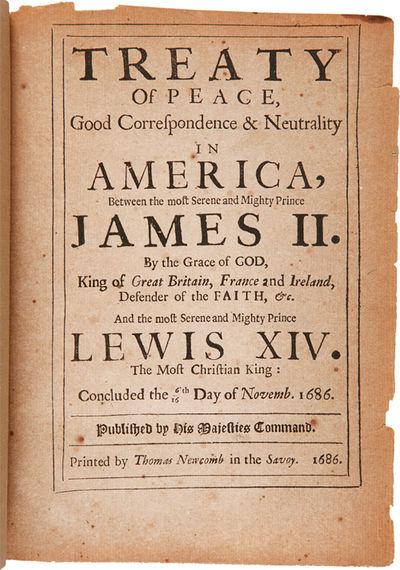 : Printed by Thomas Newcomb in the Savoy, 1686. 19pp., plus p. of ads. Small quarto. Modern three qu...