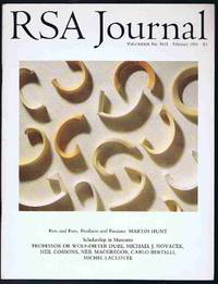 RSA Journal No. 5415 February 1991: The Journal of the Royal Society for the Encouragement of...