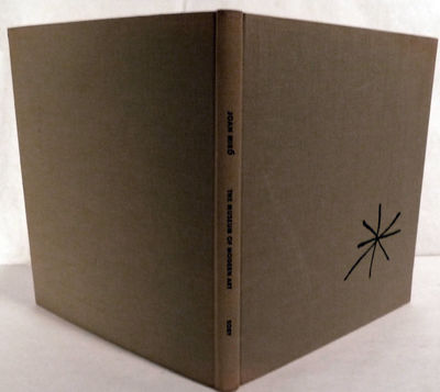 Garden City: Doubleday, 1959. First edition. Hardcover. Orig. khaki cloth. Near fine. Miro, Joan. 16...