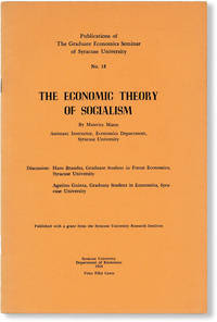 image of The Economic Theory of Socialism