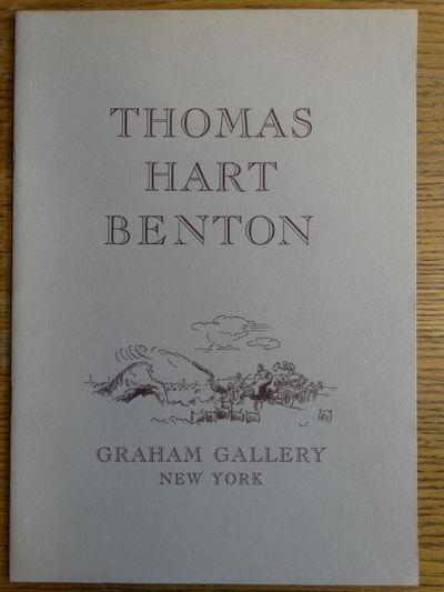 New York, New York: Graham Gallery, 1968. Softcover. VG. Greyish illu. stapled wraps, , 2 color plat...