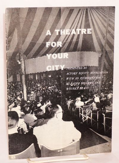 New York: AEA, 1953. 6.5x9 inches, introduction with facsimile signatures of the actors, appendixes ...