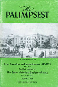 image of The Palimpsest - Volume 50 Number 8 - August 1969