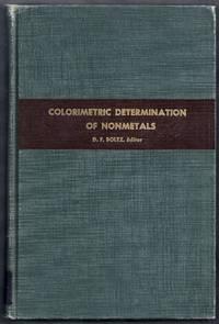 Colorimetric Determination of Nonmetals