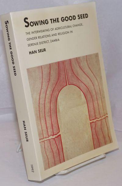 Wageningen Netherlands: Landbouwuniversiteit te Wageningen, 1992. Paperback. Dissertation: xi, 475p....
