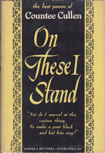 New York: Harper & Brothers, 1947. First Edition, First Printing. Octavo (8 1/4 x 5 5/8 inches; 210 ...