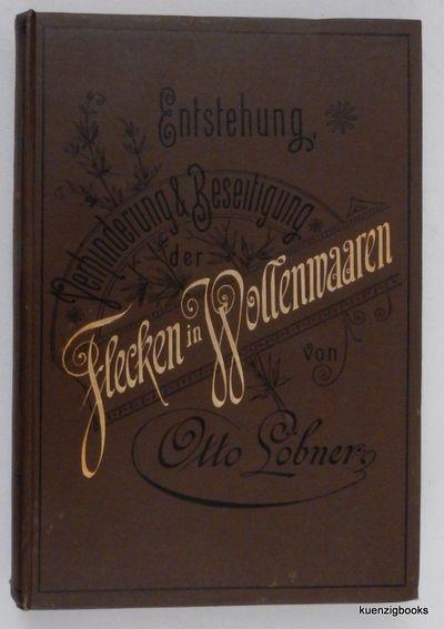 Grünberg i. Schl: Friedr. Weiss Nachf. Verlag (Hugo Soderstrom), 1890. Cloth. Very Good. 340 pages....