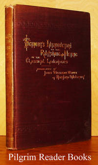 An Introduction to the Rhythmic and Metric of the Classical Languages:  to which are added the lyric parts of the Medea of Euripides and  the Antigone of Sophocles, with the rhythmical schemes and commentary