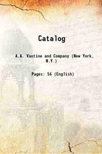 Catalog 1914 [Hardcover]