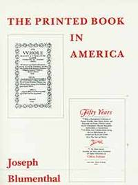 image of The Printed Book in America.