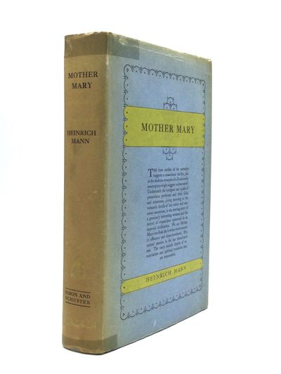 New York: Simon and Schuster, 1928. First Edition. Hardcover. Very good/Good. First American Edition...