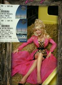 Dolly Parton - Live Nation Presents 'Backwards Barbie Official Tour Book': Souvenir Concert Programme Performed at The O2, London + Tickets