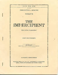 The Impercipient, Third Issue