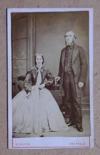 Carte De Visite Photograph: Portrait of a Husband & Wife.