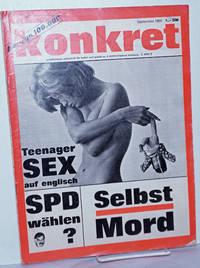 image of Konkret, 1965, Sep No. 9 Unabhängige Zeitschrift Für Kulture und Politik