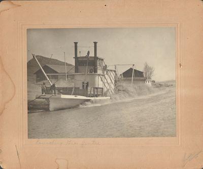 Bismarck-Mandan, N. D.: Holmboe. Very Good. Photograph. B&W photograph on tan mount taken between 19...