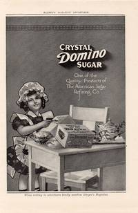 image of Original 1911 Illustrated Advertisement for Crystal Domino Sugar