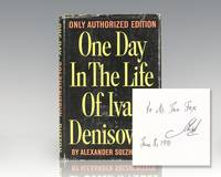 One Day in the Life of Ivan Denisovich. by  Alexander. Translated by Ralph Parker (Solzhentizyn) Solzhenitsyn - Signed First Edition - 1963 - from Raptis Rare Books and Biblio.com