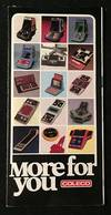 1982 Coleco Hand-Held Game 16-PP Folding Catalog