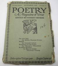 image of Poetry: A Magazine of Verse September 1930