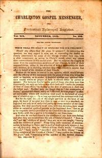 The Charleston Gospel Messenger, and Protestant Episcopal Register November, 1842