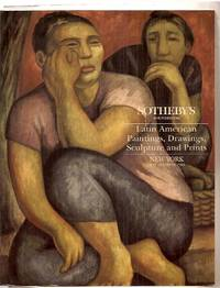 image of Sotheby's Latin American Paintings, Drawings, Sculpture and Prints: New  York May 18 and 19, 1993