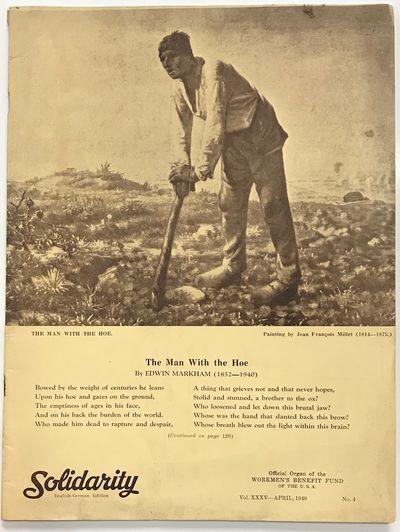 New York: Workmen's Benefit Fund of the United States of America, 1940. pp. 117-168, staplebound mag...