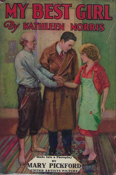 NY: A.L. Burt Company, 1927. First Photoplay Edition. 8vo., red- brown cloth in dust jacket; 325 pag...