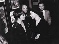 image of Original photograph of Liza Minnelli and Romy Schneider, 1972