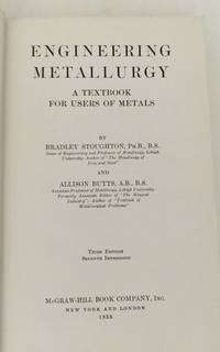 Engineering Metallurgy A Textbook for Users of Metals
