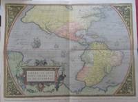Map of the Americas, ca. 1570, by Abraham Ortelius. Americae Sive Novi Orbis, Nova Descriptio. Reproduction