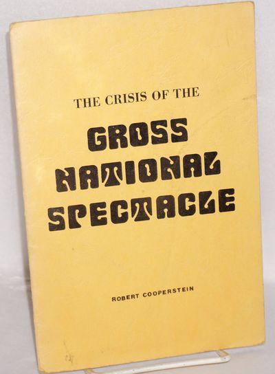 Berkeley: the author, 1976. 13p., wraps lightly soiled.