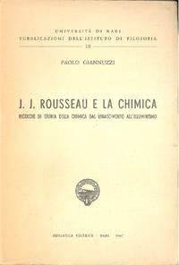 J.J. Rousseau e la chimica
