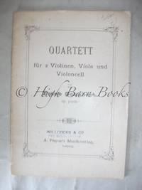 Quartett fur 2 violinen, viola and violoncell