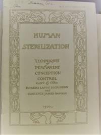 Human Sterilization:  Techniques of Permanent Conception Control
