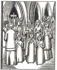 """Philippe de Mézières' Description of the Festum Praesentationis Beatae Mariae ; translated from the Latin and introduced by an essay on """"The Birth of Modern Acting"""" by Albert B. Weiner.  [A Fourteenth Century Prompt Book]"""