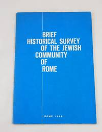 Brief Historical Survey of the Jewish Community of Rome