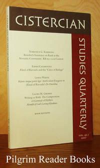 image of Cistercian Studies Quarterly: Volume 42.3, 2007.