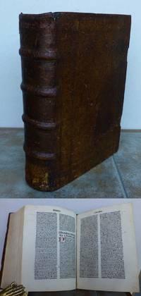 SERMONES THESAURI NOVI DE TEMPORE. by  Dominican Patriarch of Jerusalem in 1329 (d. 1342).:  Petrus.  Pierre de la Palud - Hardcover - 1484 - from Roger Middleton and Biblio.com